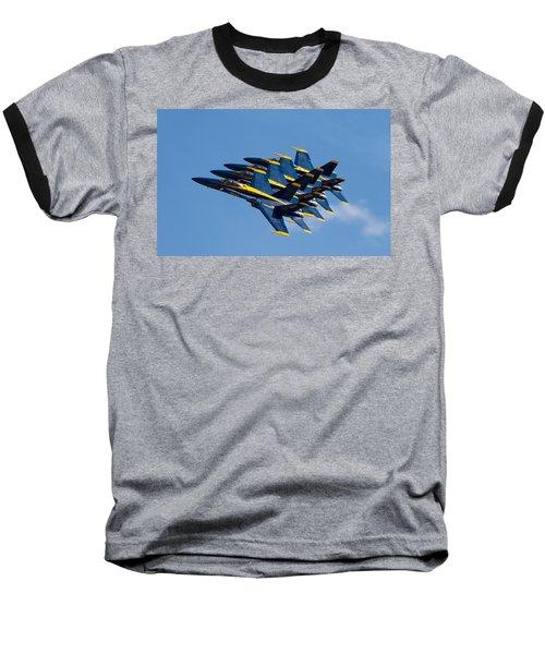 Blue Angels Echelon Baseball T-Shirt