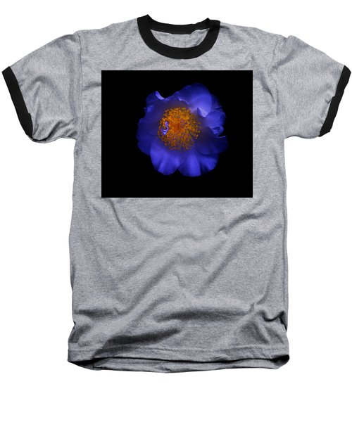 Blue Beauty Baseball T-Shirt