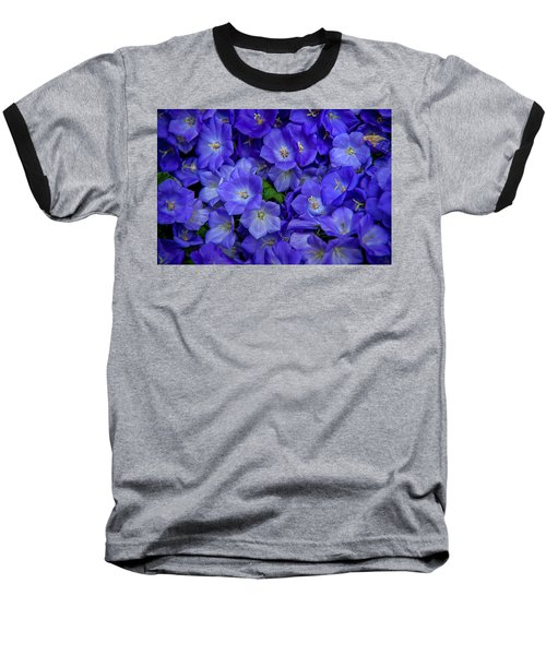 Blue Bells Carpet. Amsterdam Floral Market Baseball T-Shirt