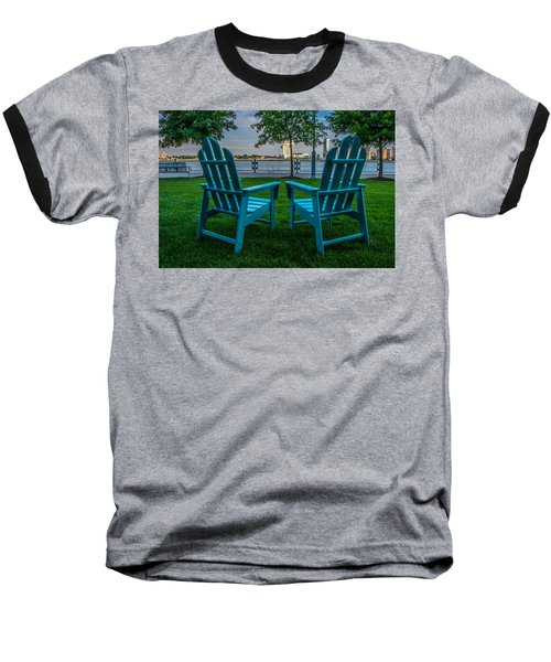 Blue Chairs Baseball T-Shirt