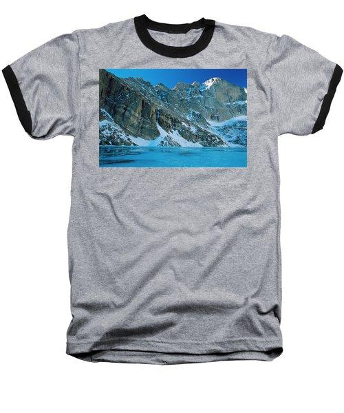 Blue Chasm Baseball T-Shirt by Eric Glaser