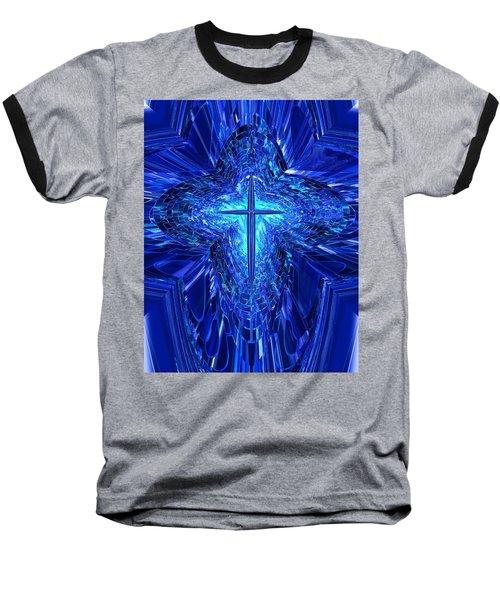 Blue Cross Baseball T-Shirt