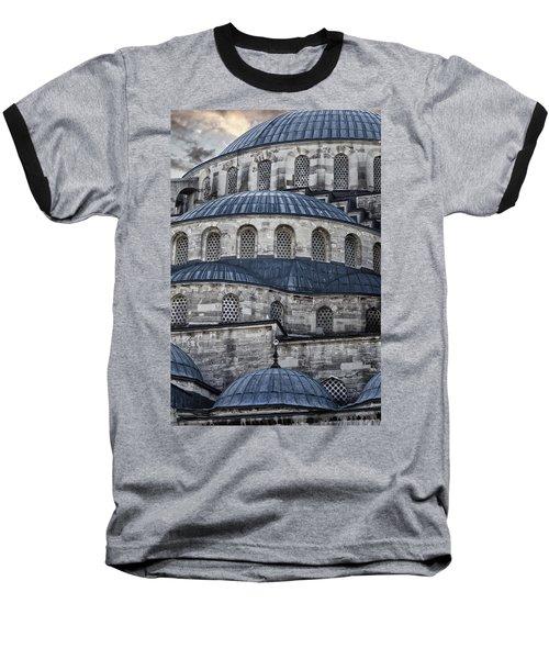 Blue Dawn Blue Mosque Baseball T-Shirt
