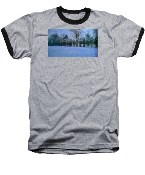 Blue Dawn Baseball T-Shirt by RC deWinter