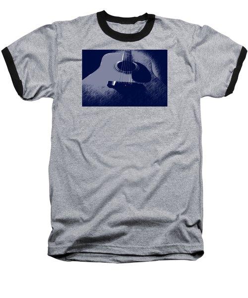 Blue Guitar Baseball T-Shirt