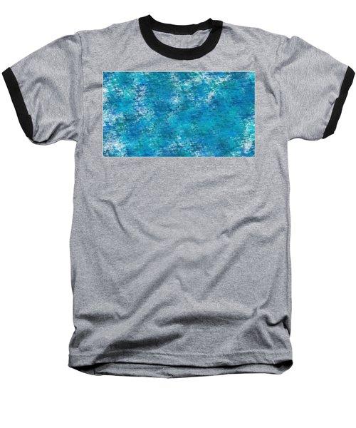 Baseball T-Shirt featuring the digital art Blue Haze... by Tim Fillingim
