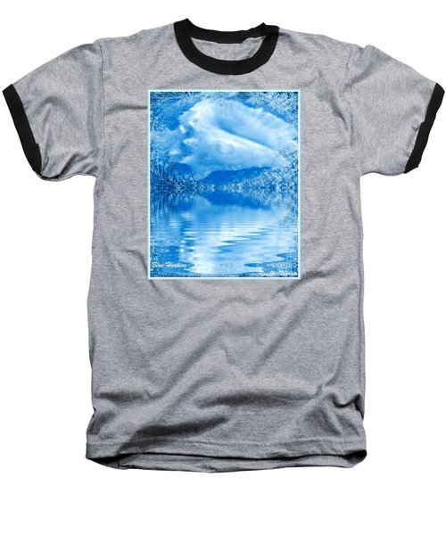 Blue Healing Baseball T-Shirt