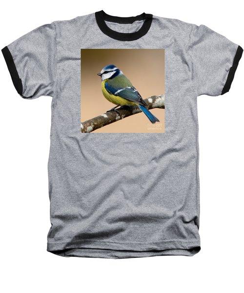 Blue Hood  Baseball T-Shirt by Torbjorn Swenelius