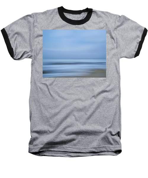 Blue Hour Beach Abstract Baseball T-Shirt