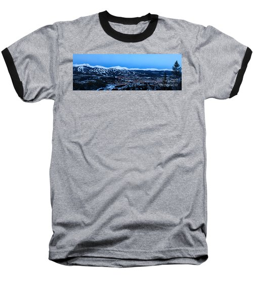 Blue Hour In Breckenridge Baseball T-Shirt