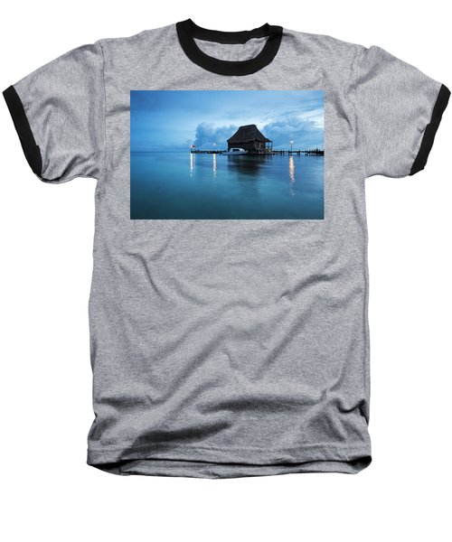 Blue Hour Landscape Baseball T-Shirt