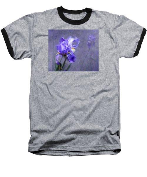 Blue Iris Baseball T-Shirt