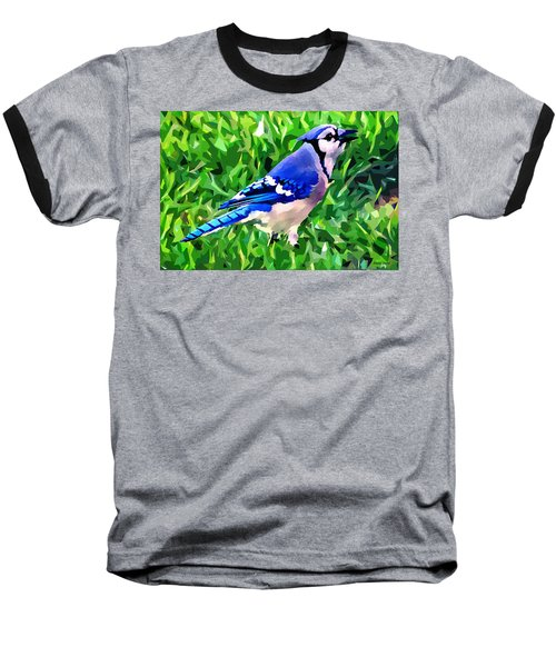 Blue Jay Baseball T-Shirt by Stephen Younts