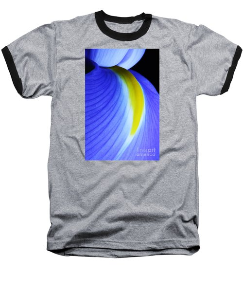 Baseball T-Shirt featuring the photograph Blue by Judy Whitton