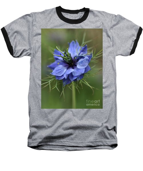 Baseball T-Shirt featuring the photograph Blue Love by Joy Watson