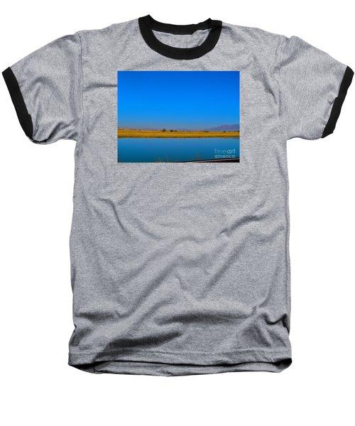 Blue Meets Blue Baseball T-Shirt