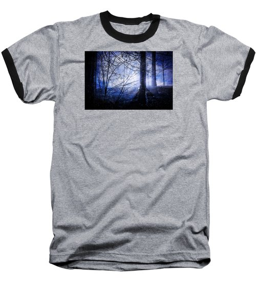 Blue Mist Baseball T-Shirt