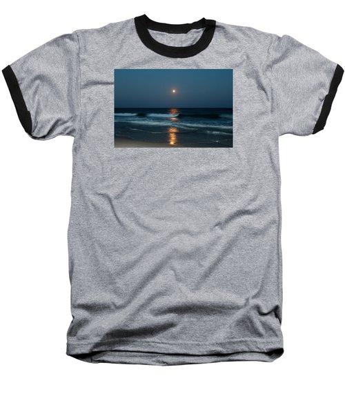 Baseball T-Shirt featuring the photograph Blue Moon by Cynthia Guinn