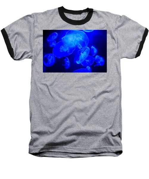 Blue Moon Jellies Baseball T-Shirt