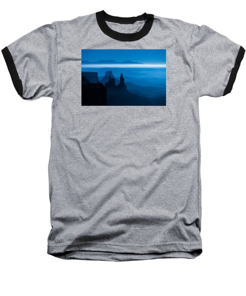 Blue Moon Mesa Baseball T-Shirt