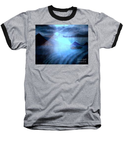 Blue Moon Sailing Baseball T-Shirt
