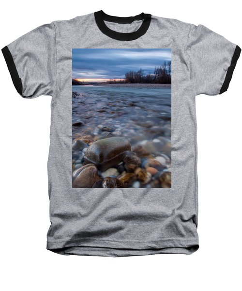 Baseball T-Shirt featuring the photograph Blue Morning by Davorin Mance