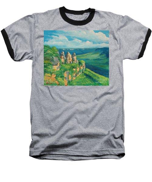 Blue Mountains Australia Baseball T-Shirt