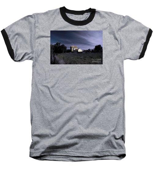 Baseball T-Shirt featuring the photograph Blue Night by Nareeta Martin