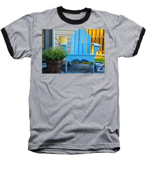Blue Repose  Baseball T-Shirt