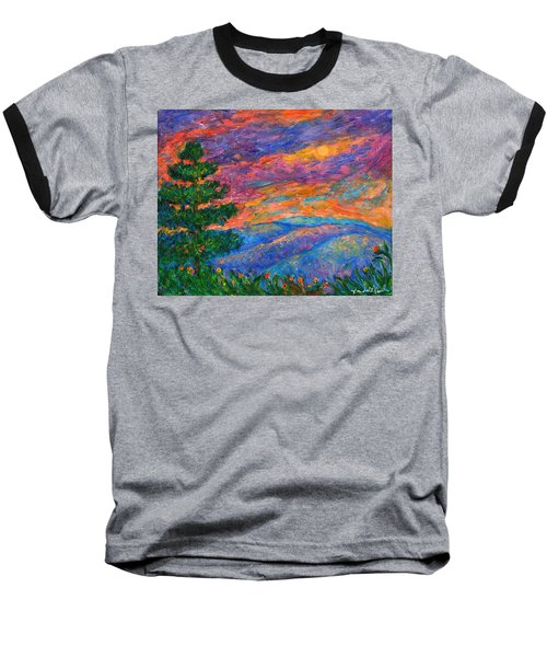 Blue Ridge Jewels Baseball T-Shirt by Kendall Kessler