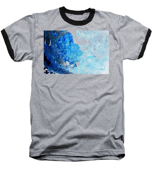 Baseball T-Shirt featuring the photograph Blue Rust by Randi Grace Nilsberg