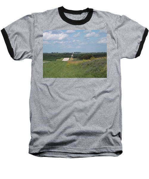Blue Skies Baseball T-Shirt