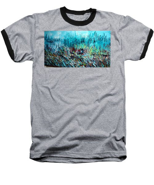 Blue Skies Chicago - Sold Baseball T-Shirt
