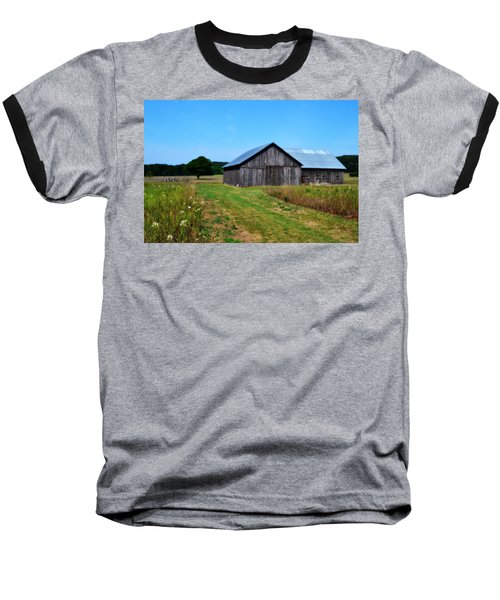 Blue Skies  Baseball T-Shirt