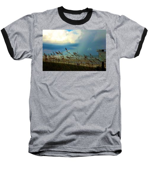 Blue Sky Above Baseball T-Shirt