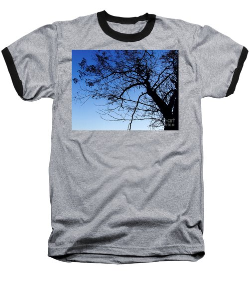 Baseball T-Shirt featuring the photograph Blue Sky by Andrea Anderegg