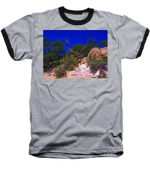 Blue Sky Over The Canyon Baseball T-Shirt