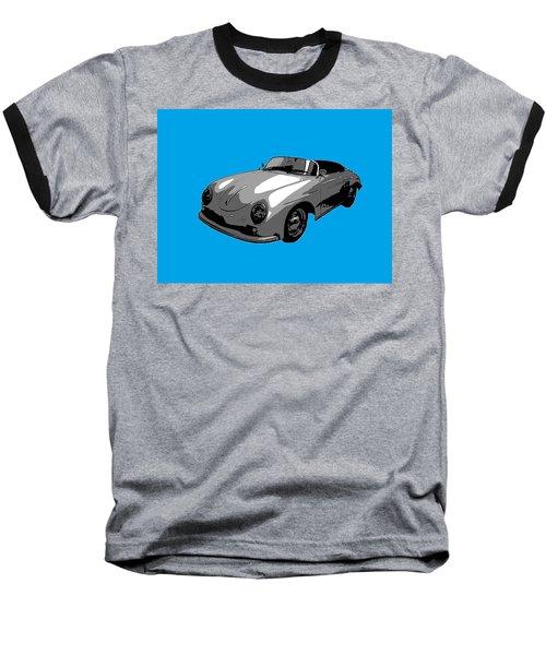 Blue Speedster Baseball T-Shirt