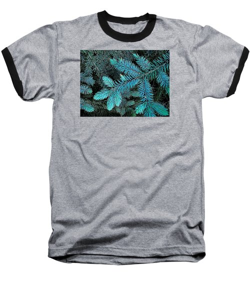Baseball T-Shirt featuring the photograph Blue Spruce by Daniel Thompson