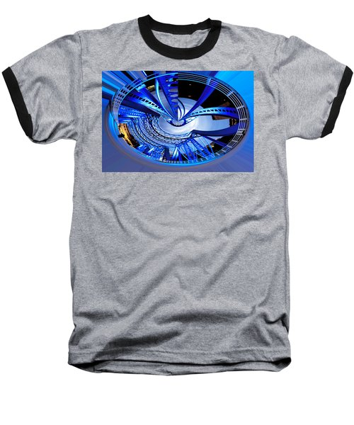 Blue Steel Baseball T-Shirt