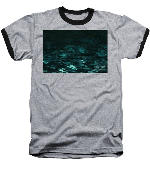 Baseball T-Shirt featuring the photograph Blue Swirl One by Chris Thomas