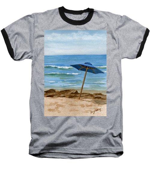 Blue Umbrella Baseball T-Shirt