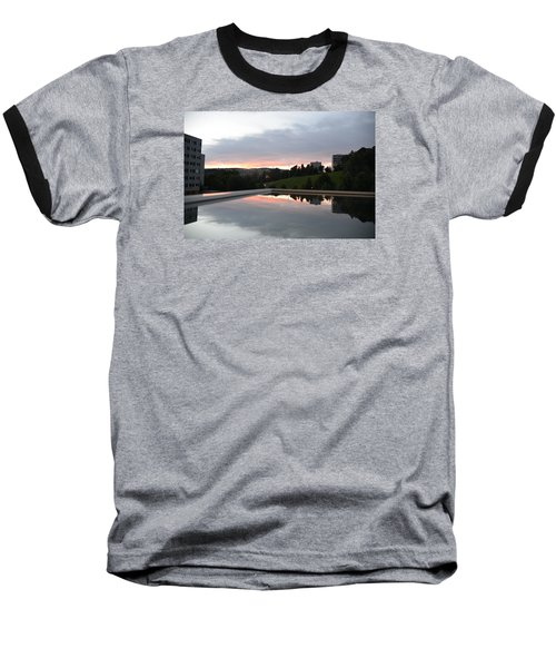 Baseball T-Shirt featuring the photograph Blue Visions 2 by Teo SITCHET-KANDA