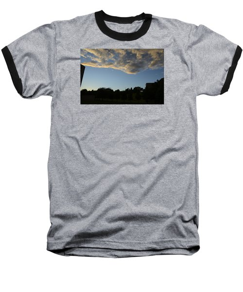 Baseball T-Shirt featuring the photograph Blue Visions 4 by Teo SITCHET-KANDA