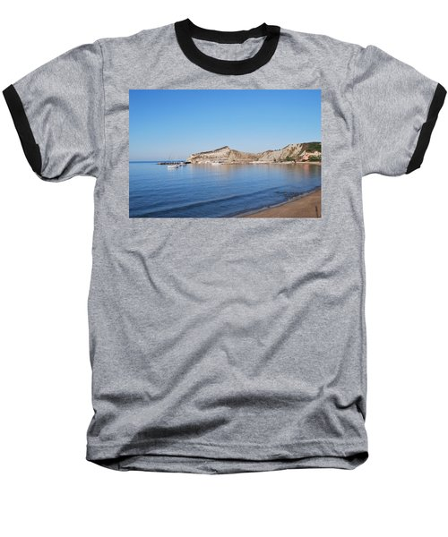 Baseball T-Shirt featuring the photograph Blue Water by George Katechis