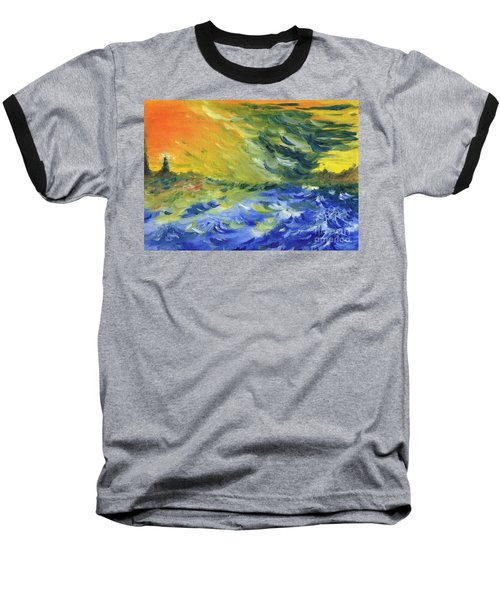 Blue Waves Baseball T-Shirt