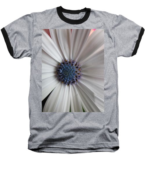 Blue-white Loveliness Baseball T-Shirt