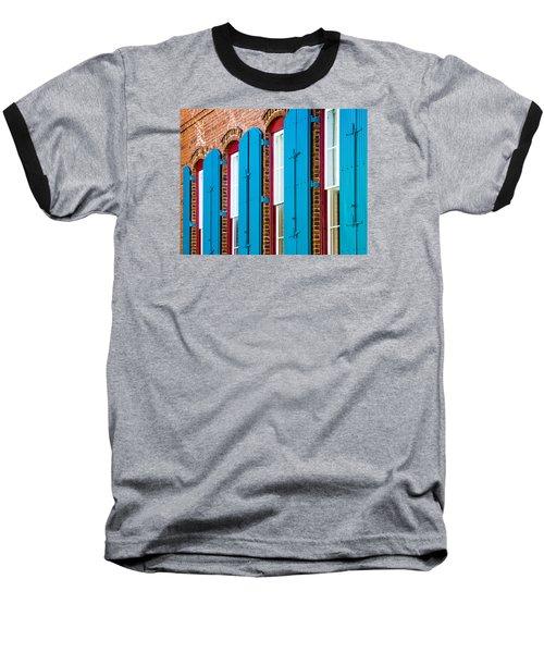 Blue Windows Baseball T-Shirt