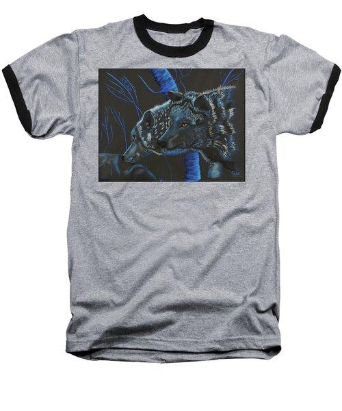 Blue Wolves Baseball T-Shirt