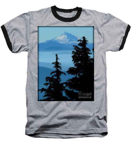 Blue Yonder Mountain Baseball T-Shirt